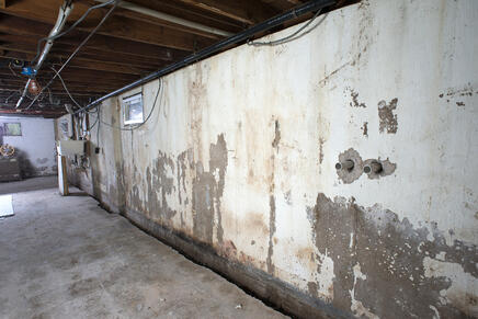 Arizona Foundation Solutions Basement Waterproofing Before