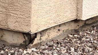 Cracking Stem Wall