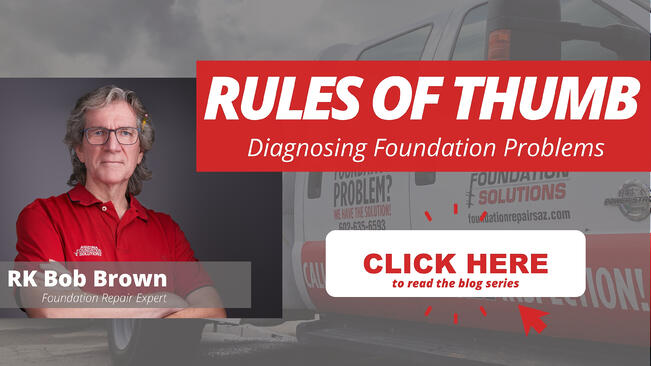 Rules of Thumb Diagnosing Foundation Problems