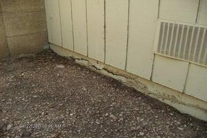 Failing Stem Wall in Arizona