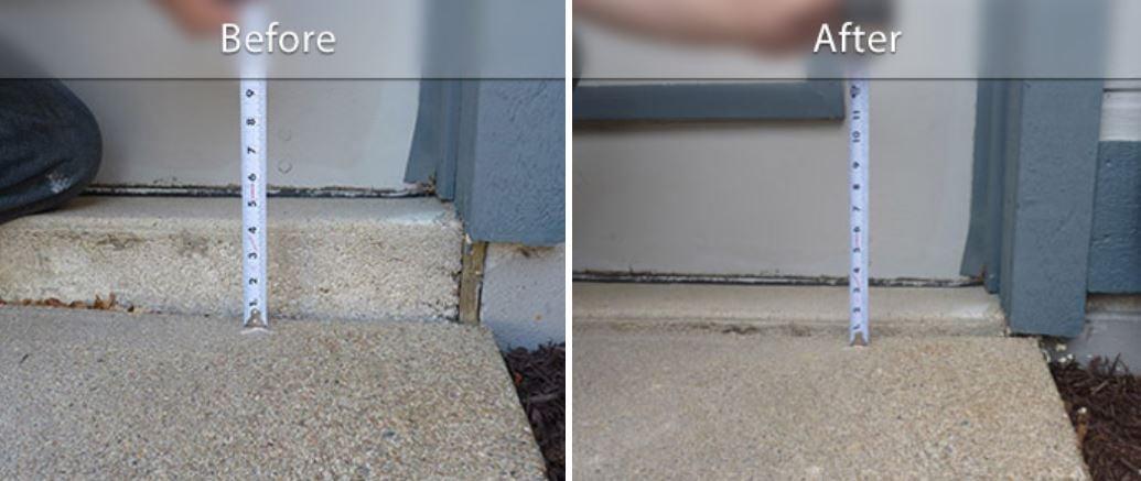 PolyLEVEL BA Concrete Step