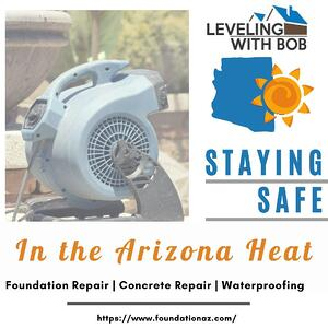 Staying Safe in the AZ Heat Graphic