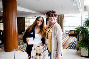 Alexis Chatman (L) & Jessica LaFlesh (R) at Supportworks Redefine 2019